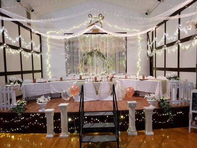 Riverside indoor reception