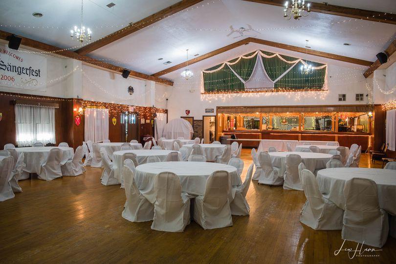 Riverside reception area