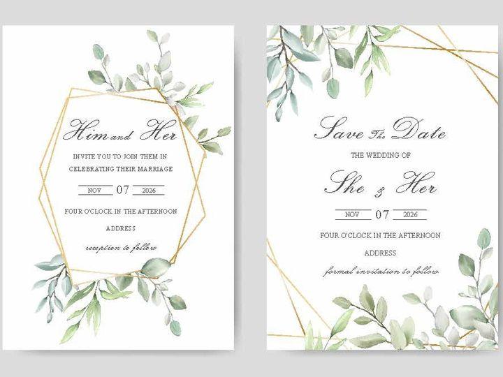 Tmx 14377 Wedding Invites Page 01 51 1945253 159104168853497 Castle Rock, CO wedding invitation