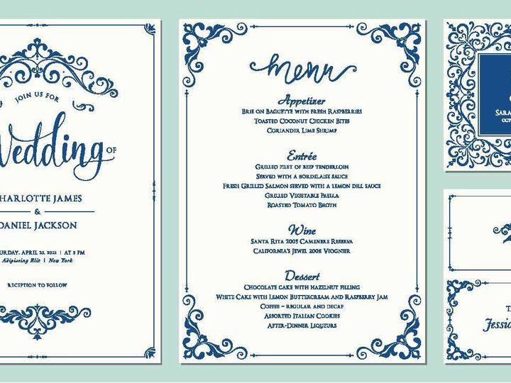 Tmx 14377 Wedding Invites Page 02 51 1945253 159104168941891 Castle Rock, CO wedding invitation