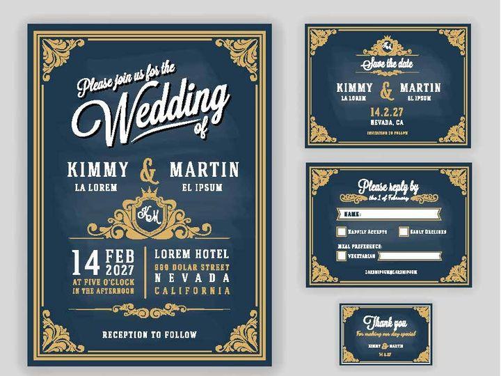 Tmx 14377 Wedding Invites Page 03 51 1945253 159104168958006 Castle Rock, CO wedding invitation