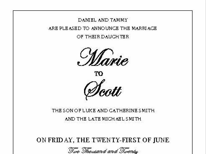 Tmx 14377 Wedding Invites Page 08 51 1945253 159104168863986 Castle Rock, CO wedding invitation