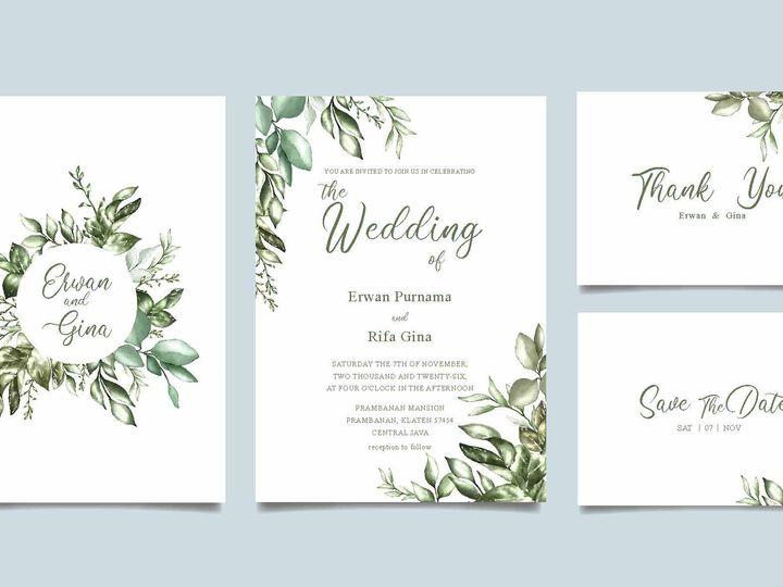 Tmx 14377 Wedding Invites Page 10 51 1945253 159104168887267 Castle Rock, CO wedding invitation