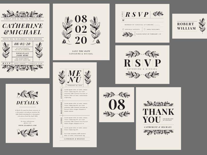 Tmx 14377 Wedding Invites Page 12 51 1945253 159104168845071 Castle Rock, CO wedding invitation