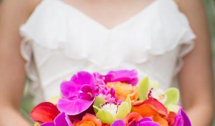 Dahlia Blooms Design 1