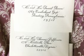 Calligraphy of Charlotte