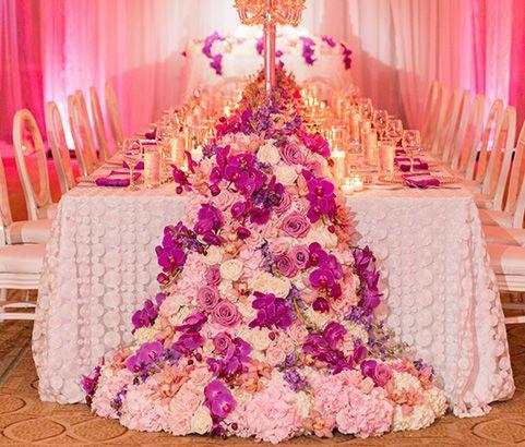 Big floral decoration