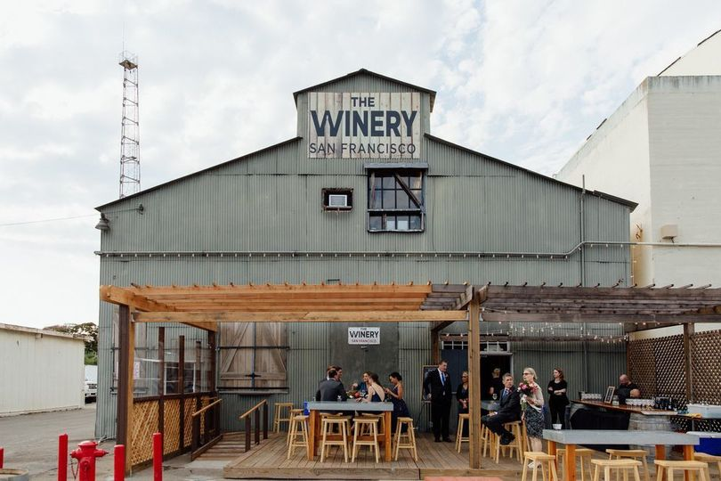 Exterior view of Winery SF