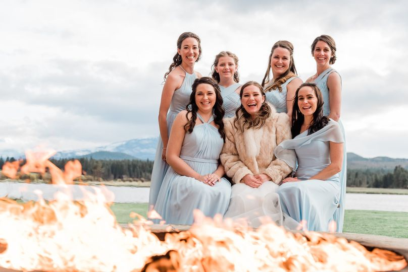 Fireside Bridal Party