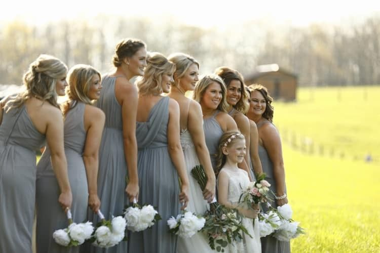 Beautiful wedding party