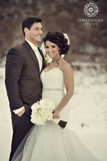 Corey Cagle Photography Winter Wedding