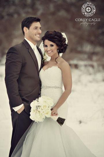 Corey Cagle PhotographyWinter Wedding