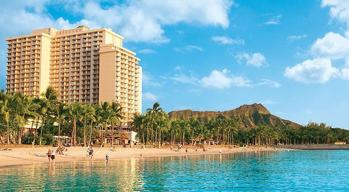 Tmx 1354225009090 WaikikiBeachHotelViewfromWater North Liberty wedding travel