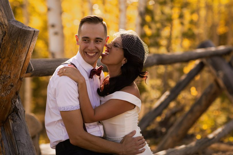Dylan Burr, Wedding Photograph