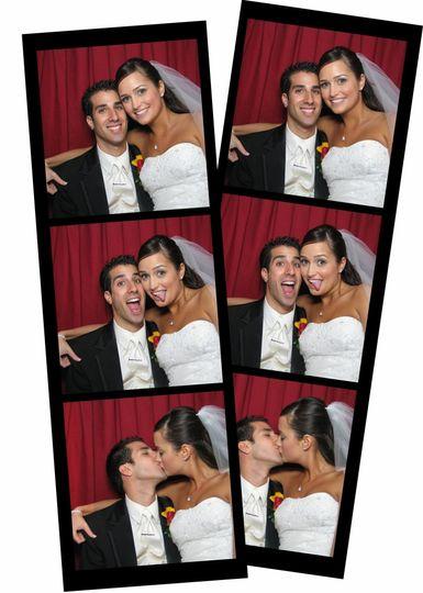 3 wedding photo strip