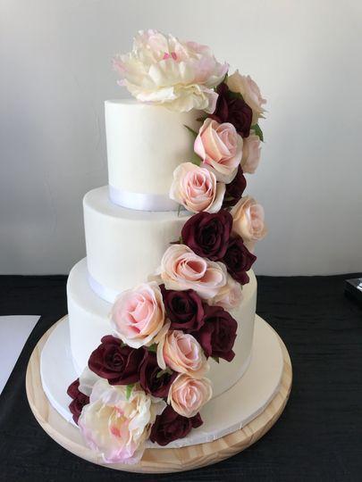 Elegant with Cascading Roses