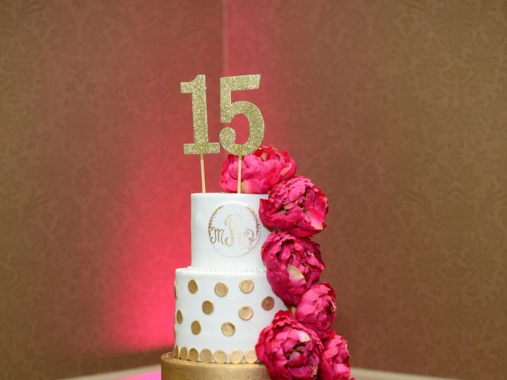 Tmx 1506375776710 181 Pleasanton, Texas wedding cake