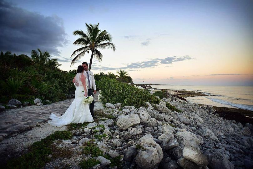 Sunset Wedding Session