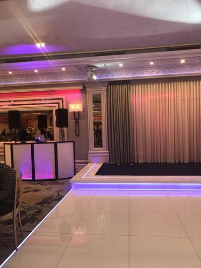 Booth and stage lighting