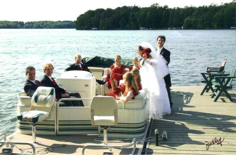 wedding pontoo