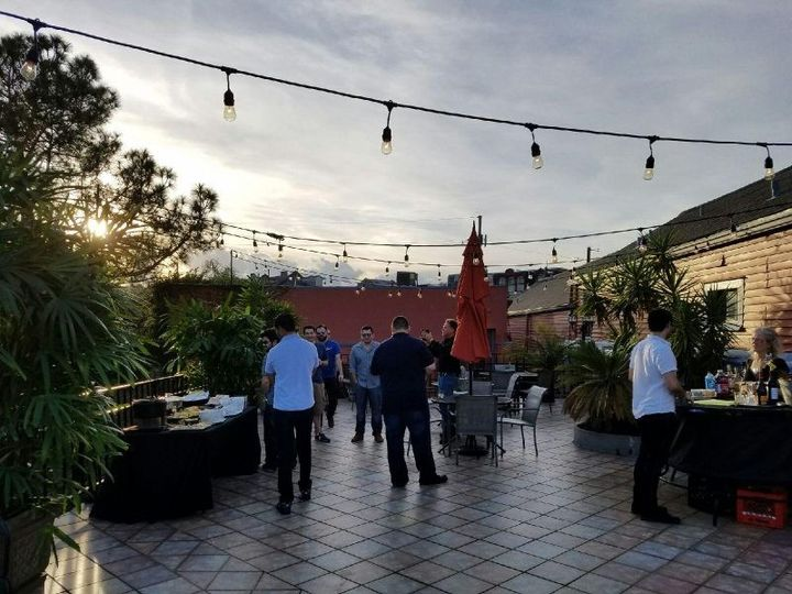 Roof top special event