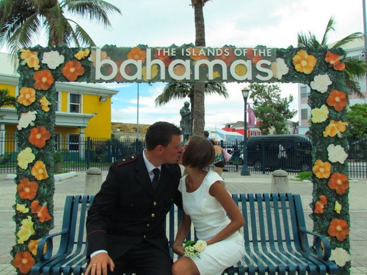 Vow Renewal in the Bahamas