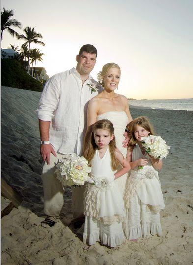 Atlantis Paradise Island Beach wedding Renewal Vow Ceremony