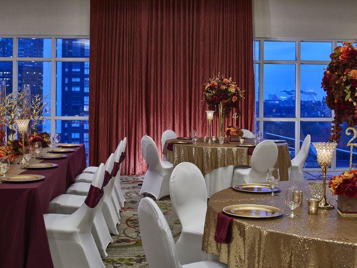 Tmx Social Ballroom Setup With Stadium 51 602353 Atlanta, GA wedding venue