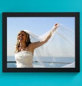 Wedding Custom Single Photo Canvas