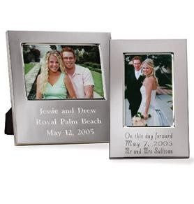 Silver-Plated Picture Frames