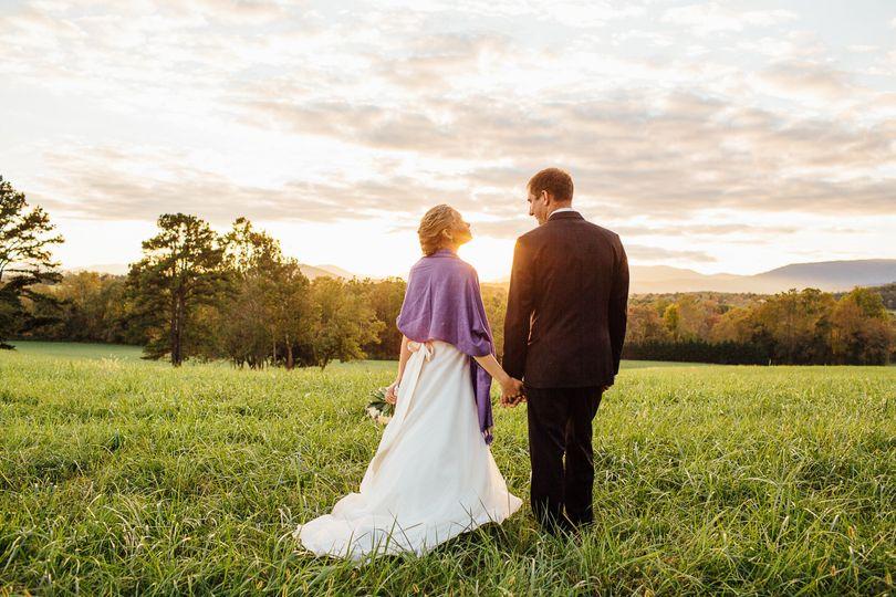 Couples on the prairie