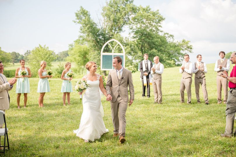 Couples recessional