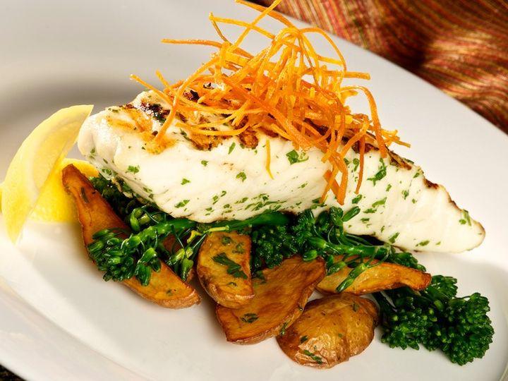 Tmx Grilled Alaskan Halibut With Fingerling Potato Logs Sauteed Garlic Broccolini In A Lemon Caper Sauce 51 653353 158688446874261 Dallas, TX wedding catering