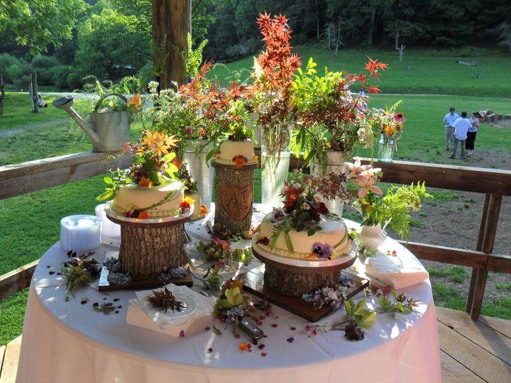 Tmx 1529362658 9546fbdd10f8b9fb 1529362657 37c5b6f49dca0192 1529362673768 4 Amy And Jed S Cake Asheville, North Carolina wedding cake