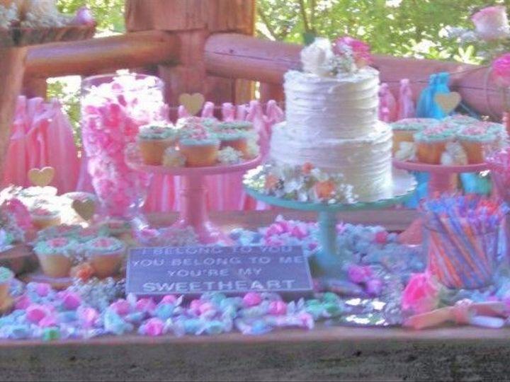 Tmx 1529429341 9a633fbd2166e7ab 1529429340 757b2cfd19cd4192 1529429360275 16 Full Cake And Can Asheville, North Carolina wedding cake