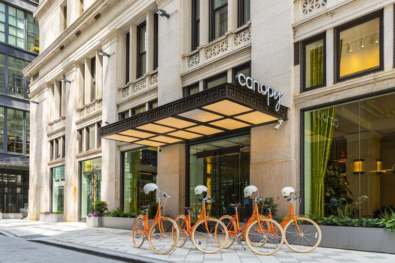 Canopy Hotel Entrance