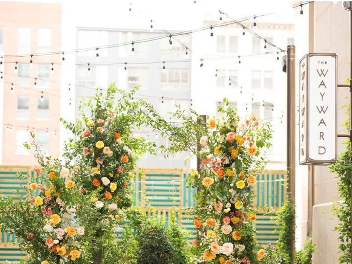 Tmx Faye And Renee X Canopy Floral Arch 51 1975353 159715781041353 Philadelphia, PA wedding venue