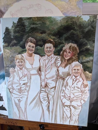 Progress of Wedding recreation