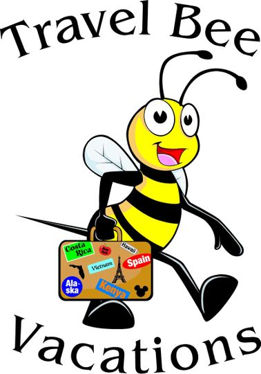 bee logo with text right