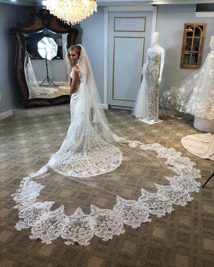 Didomenico bride in the studio