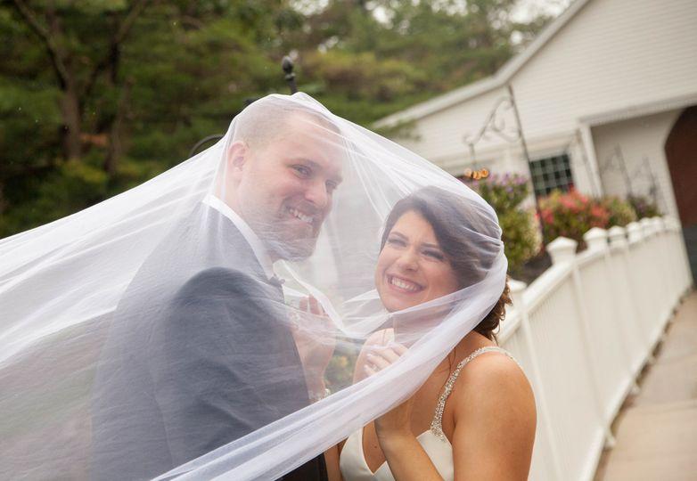 Bride and Groom Veil Fail