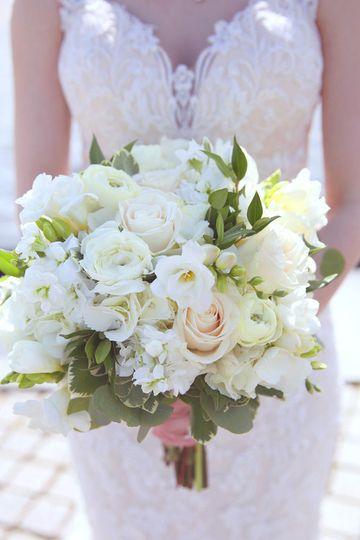 White tone flowers