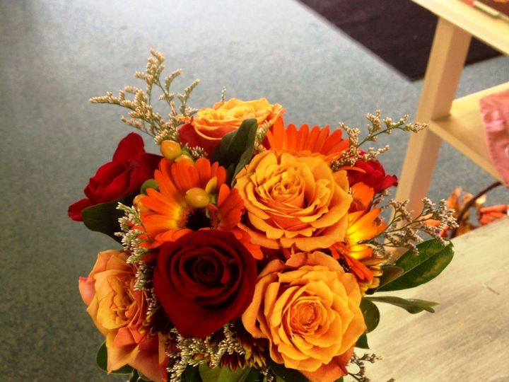 Tmx 1401306917996 Fall Themed Bridal Bouquet   October 201 Muskego, Wisconsin wedding florist