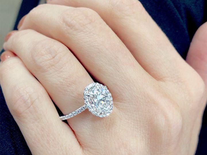 Tmx 1 50ct Oval Cut Diamond Halo Engagement Ring By Ascot Diamonds 51 187353 Addison, TX wedding jewelry
