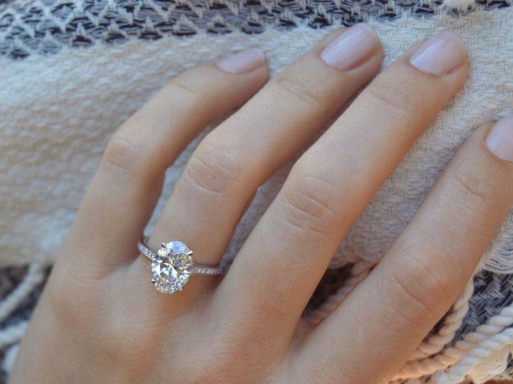 Tmx 1534447185 56e46e04559571c8 1534447184 7a1ad833ea483740 1534447183871 2 Oval Cut Diamond S Addison, TX wedding jewelry