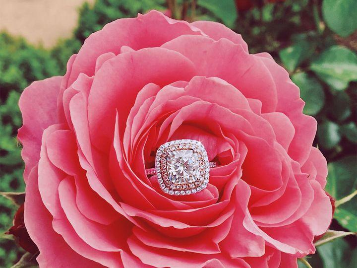 Tmx 1537894338 5f06689a47b5c5ea 1537894336 21ea09dfa6bae615 1537894334577 3 Double Cushion Sha Addison, TX wedding jewelry