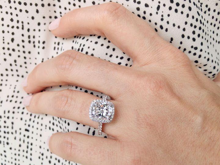 Tmx 1537894469 838d25a596fb020b 1537894468 8aad593d8e1e1e5e 1537894467268 3 Cushion Cut Diamon Addison, TX wedding jewelry