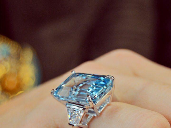 Tmx 1537894637 6e146911bfdd016a 1537894636 2df502d3190f324c 1537894635683 10 Emerald Cut Aquam Addison, TX wedding jewelry
