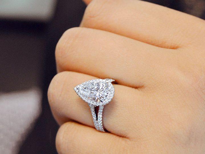 Tmx 1537894637 Ee8aa4fac11bbf84 1537894636 1a0a235652a9cdb3 1537894635684 11 Pear Shaped Halo  Addison, TX wedding jewelry