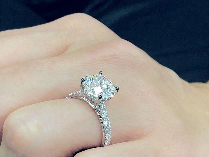 Tmx Classic Round Cut Diamond Solitaire Engagement Ring By Ascot Diamonds 51 187353 Addison, TX wedding jewelry